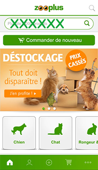mon application mobile zoo plus