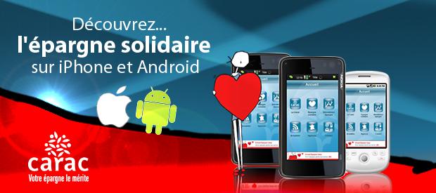 Application mobile Carac