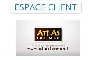 Espace client Atlas For Men connexion