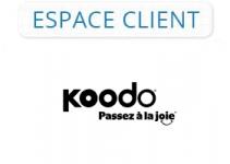 Mon espace client koodo