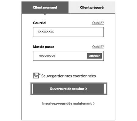 Utiliser l'application Libre-service Koodo