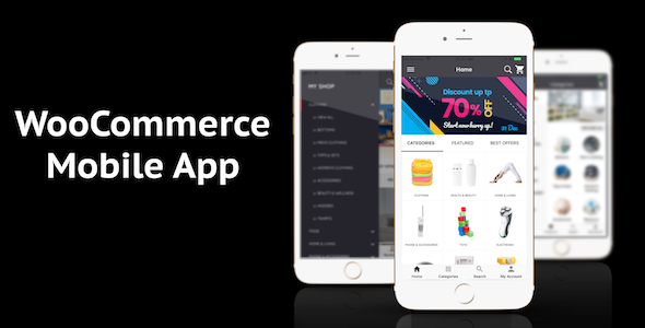 application mobile woocommerce