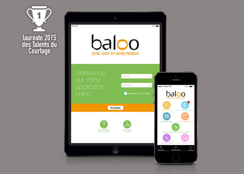 application mobile baloo