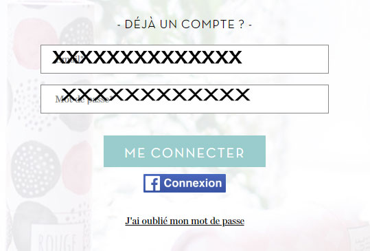 se connecter au compte my little box
