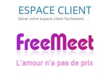 étapes d'accès sur le site de rencontre www.freemeet.net