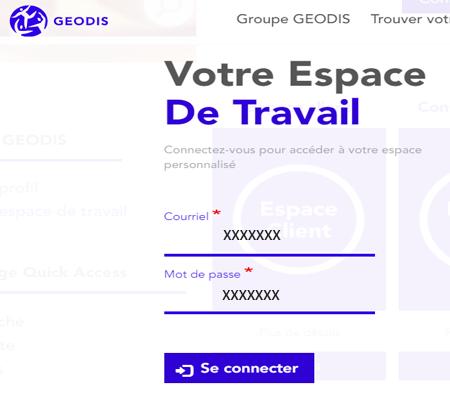 My geodis accès