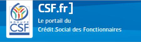 Mon compte CSF en ligne