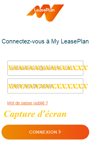 My LeasePlan Log in