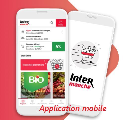 passer une commande sur l'application mobile APK