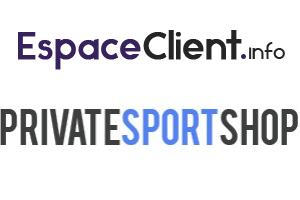 espace client private sport shop